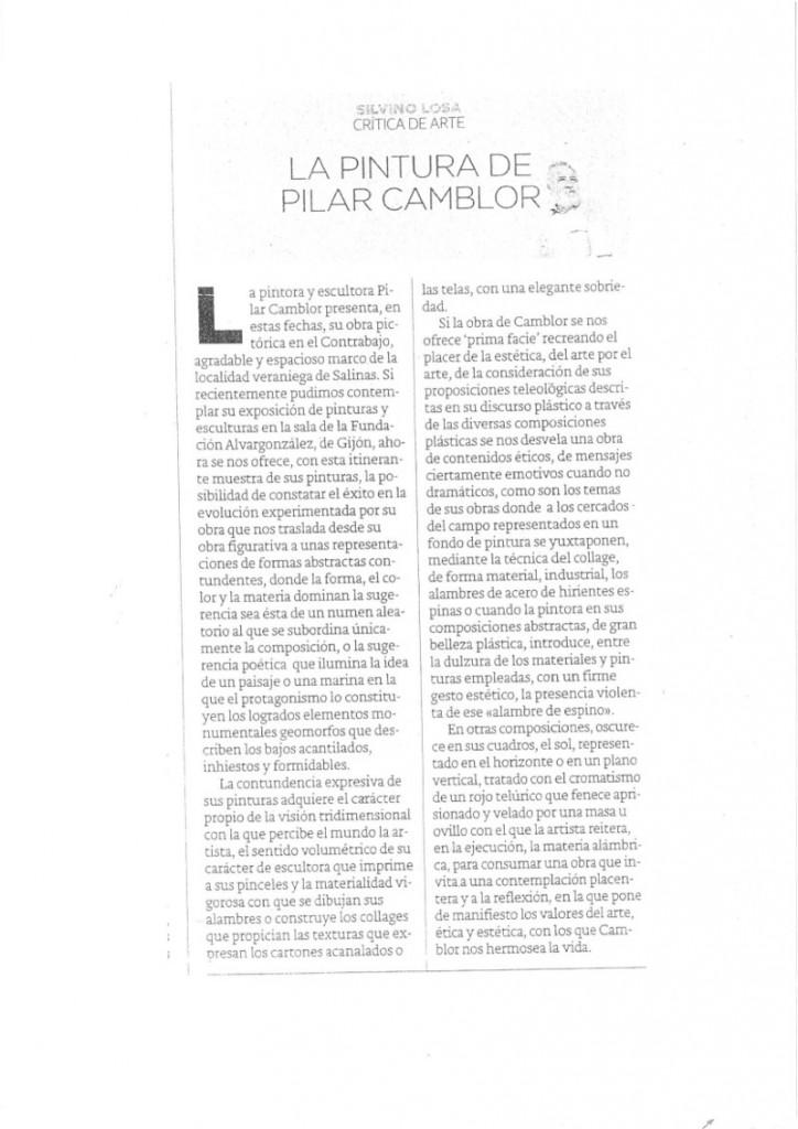 Critica Diario El Comercio esc